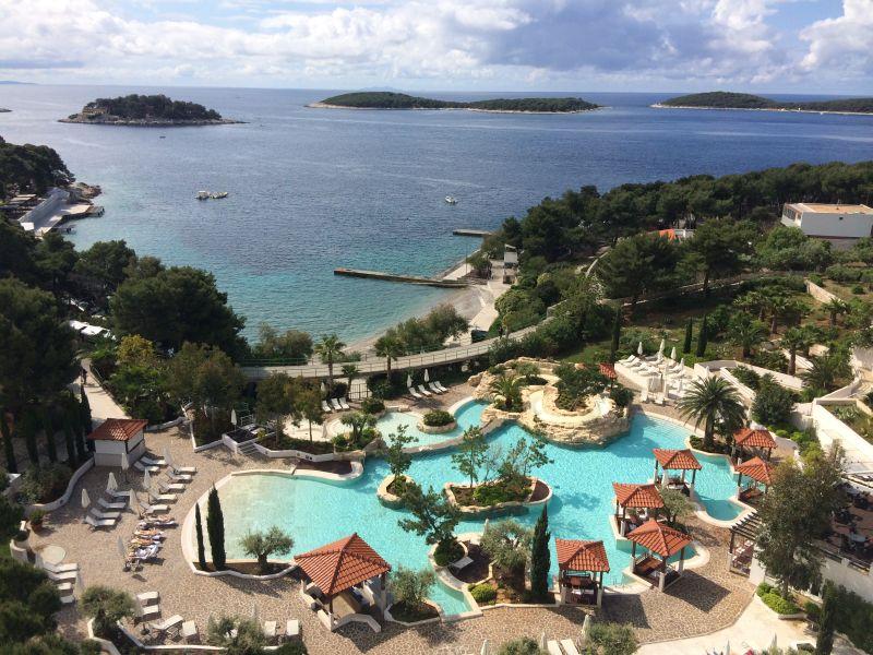 Hvar hotels (ostrov Hvar)